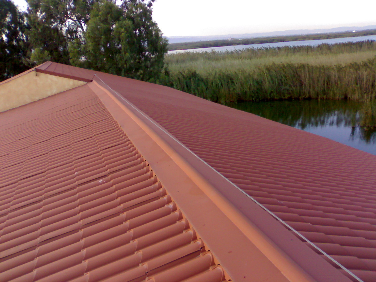 techo paneles termicos valencia